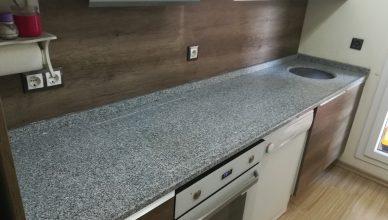 Bahçeşehir Granit Mutfak tezgahı